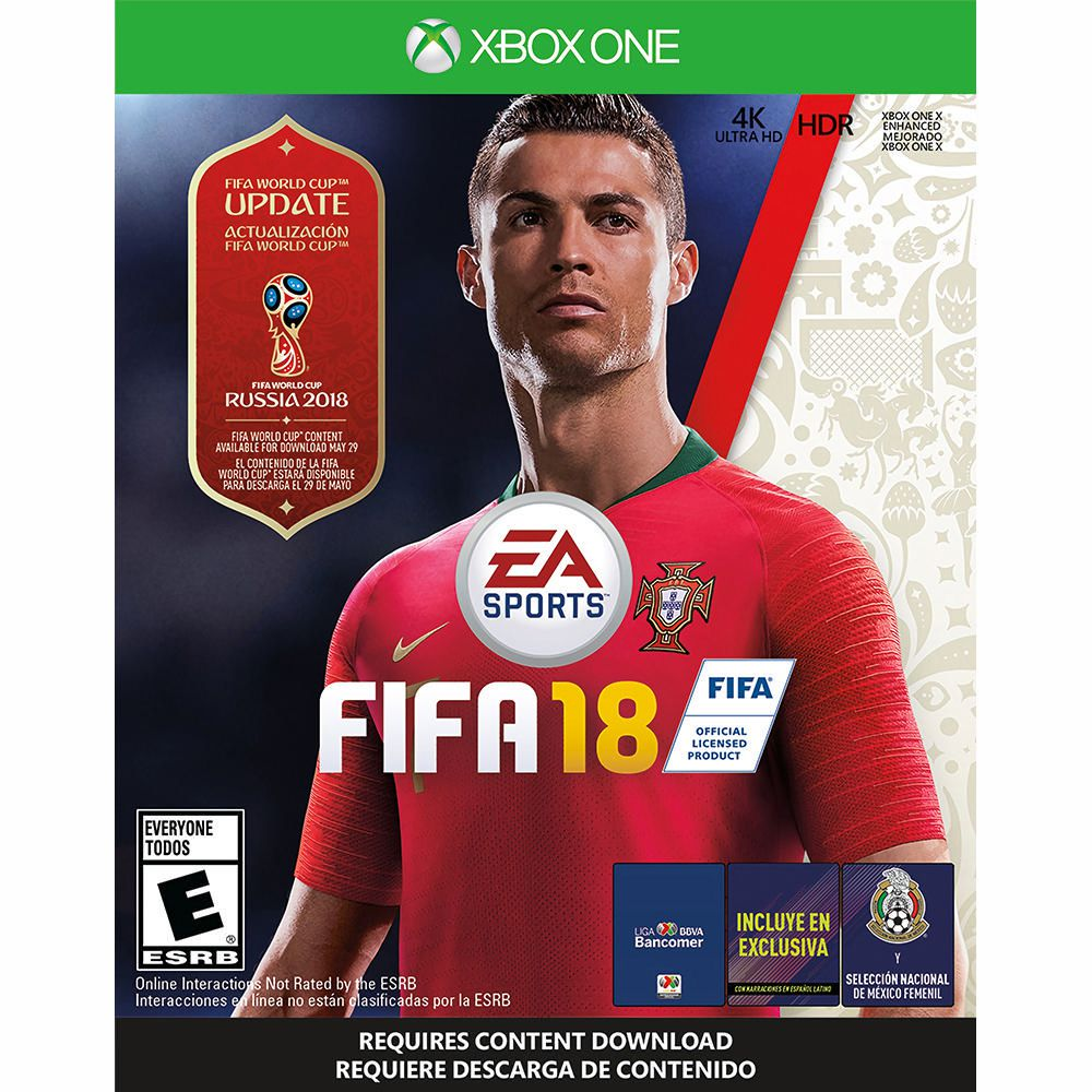 fifa 18 world cup xbox one