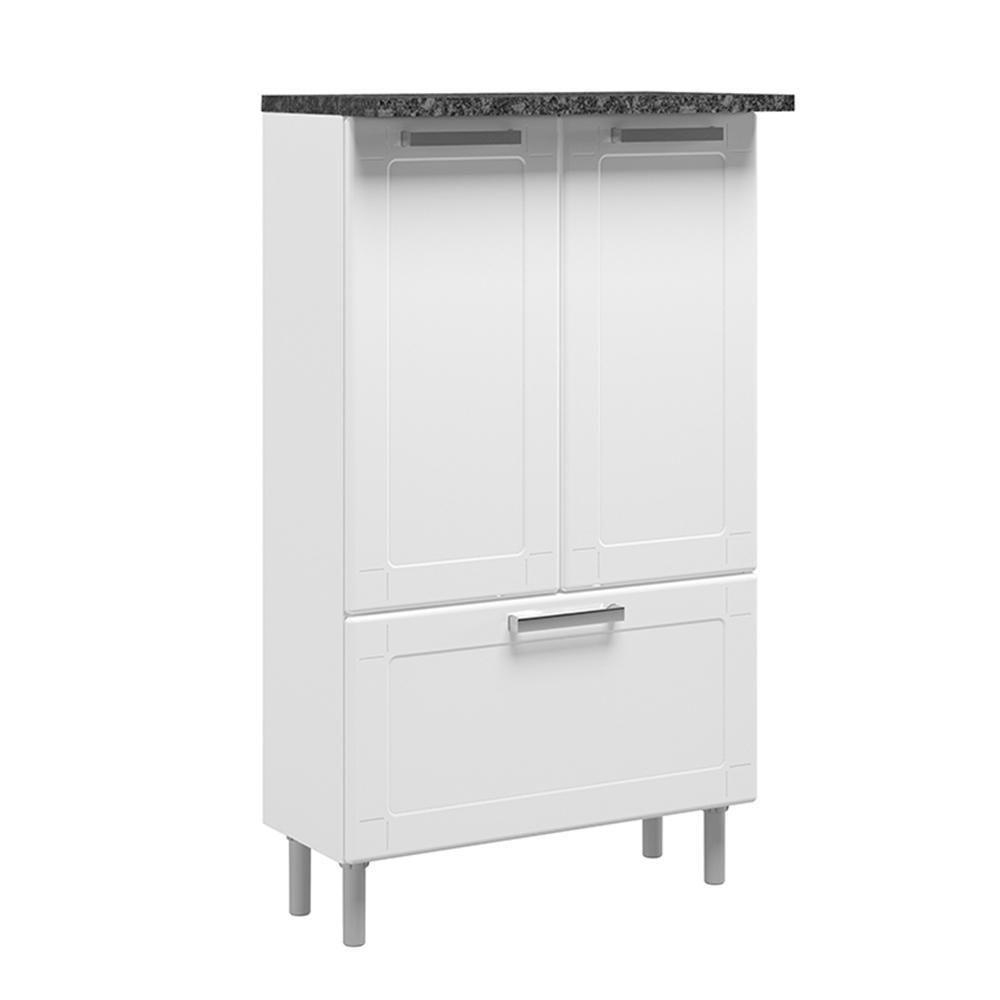 Mueble para Microondas Bertolini Blanco | Elektra Online - elektra