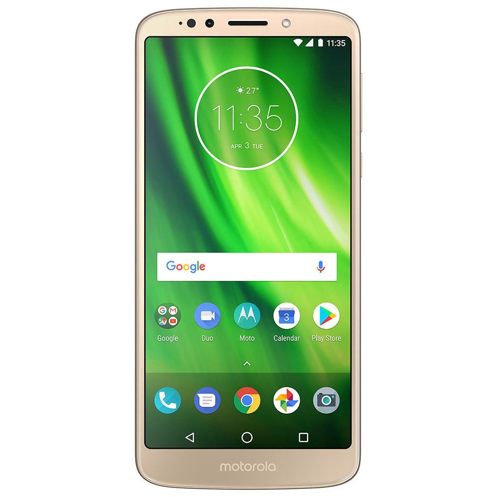 ae02fade2b Moto G6 Play 32 GB AT T - Dorado