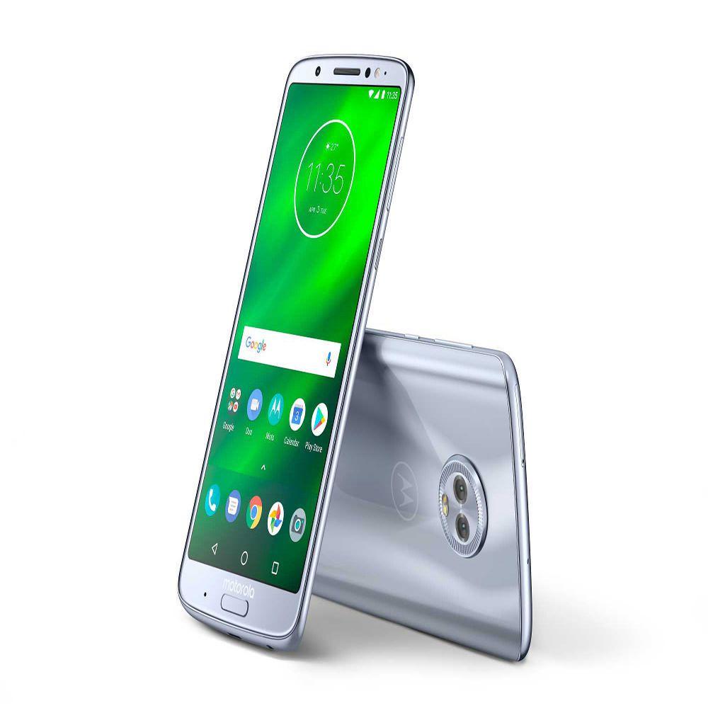 2b6d7ecf0 Moto G6 Plus 64 GB AT T Azul Nimbus