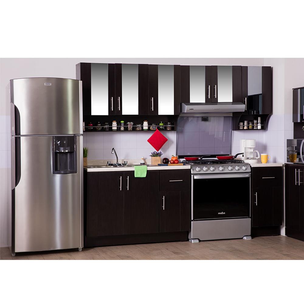 Cocina modular marruecos chocolate elektra online elektra for Muebles salinas