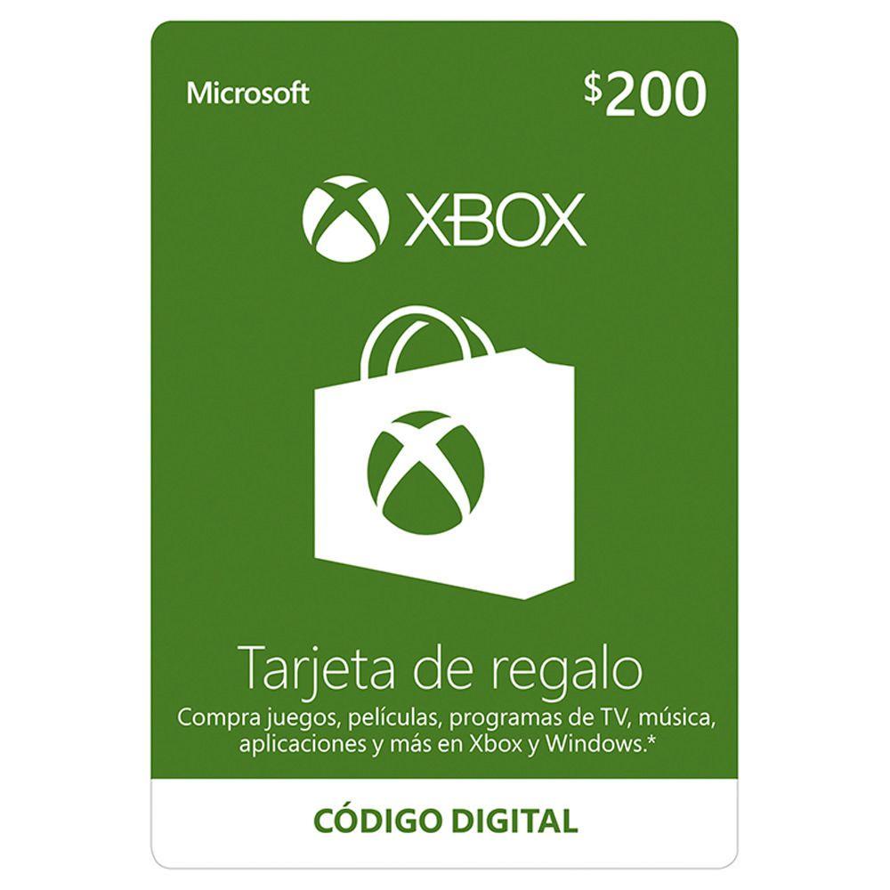 TARJETAS DE REGALO GRATIS DE XBOX