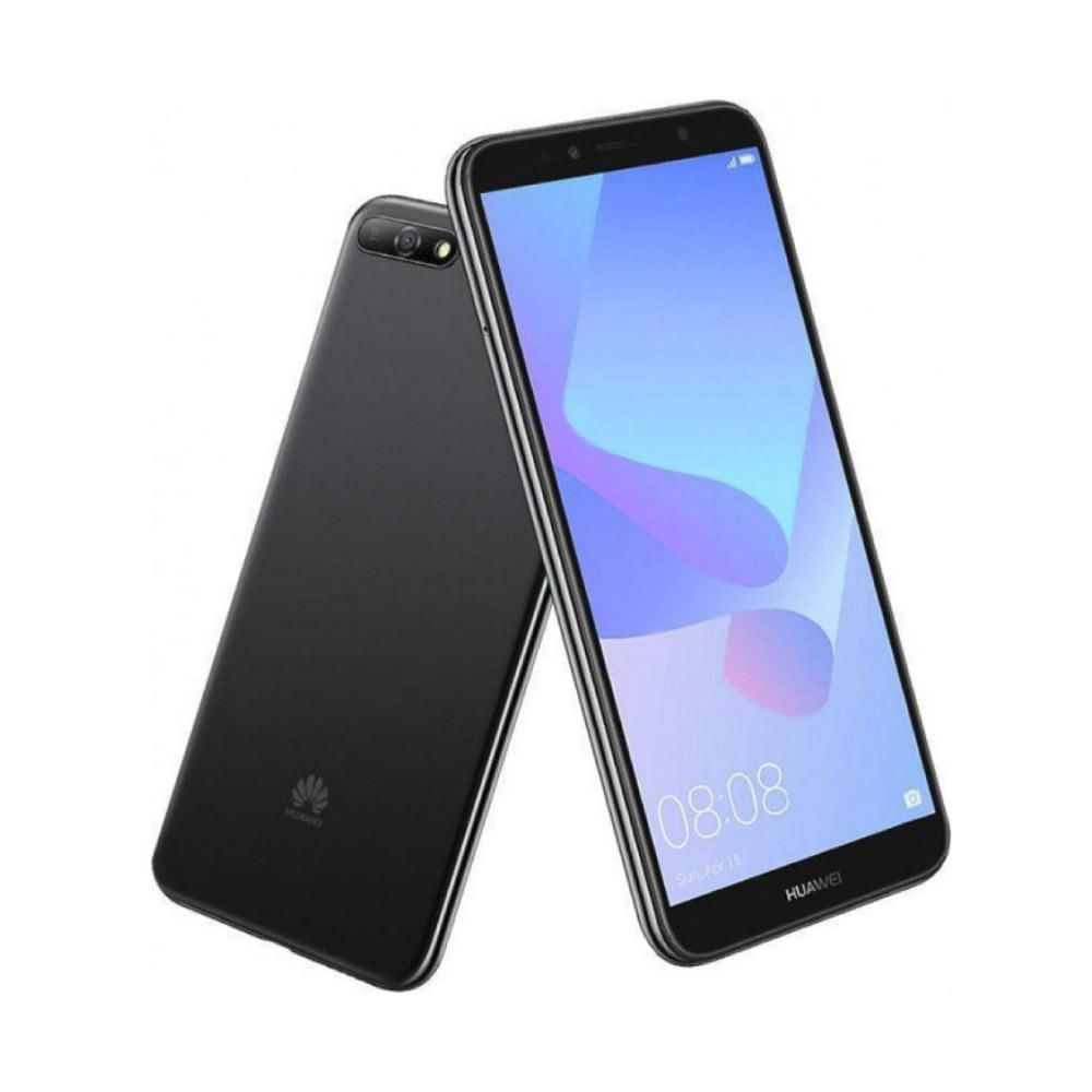 db7d6bef0fb6c Huawei Y6 2018 16 GB Telcel R9 - Negro