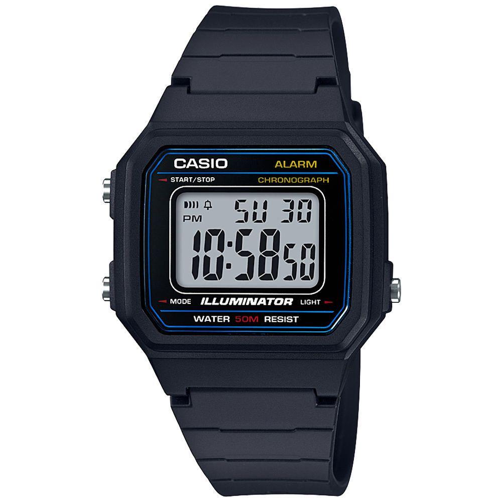 1b00f39fbffd Reloj Digital para Caballero Casio W-217H-1AVCF