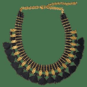 810f4a7b4890 Collar Eliane - Oro con Negro