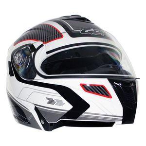 0a46f74f0cf83 Motos - Accesorios para motocicleta - Cascos Blanco-Gris – elektra-usa